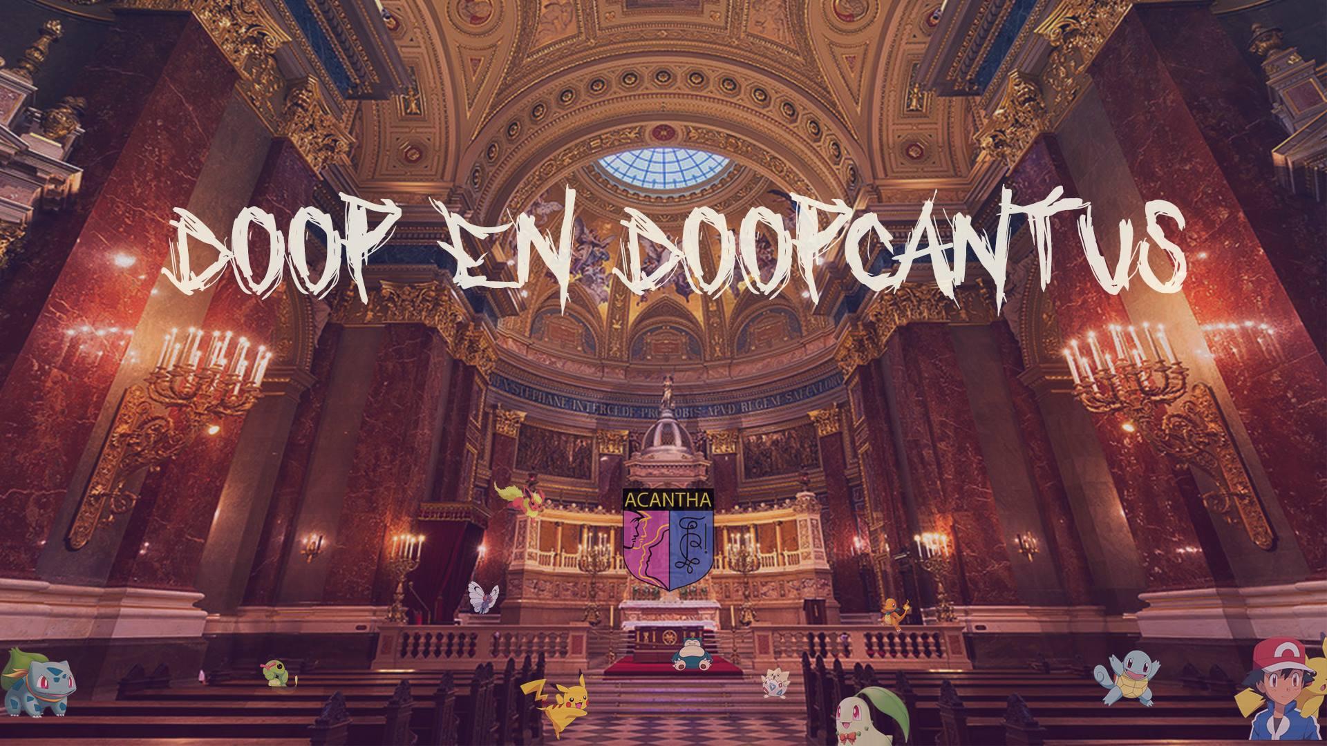 Doop en doopcantus Acantha