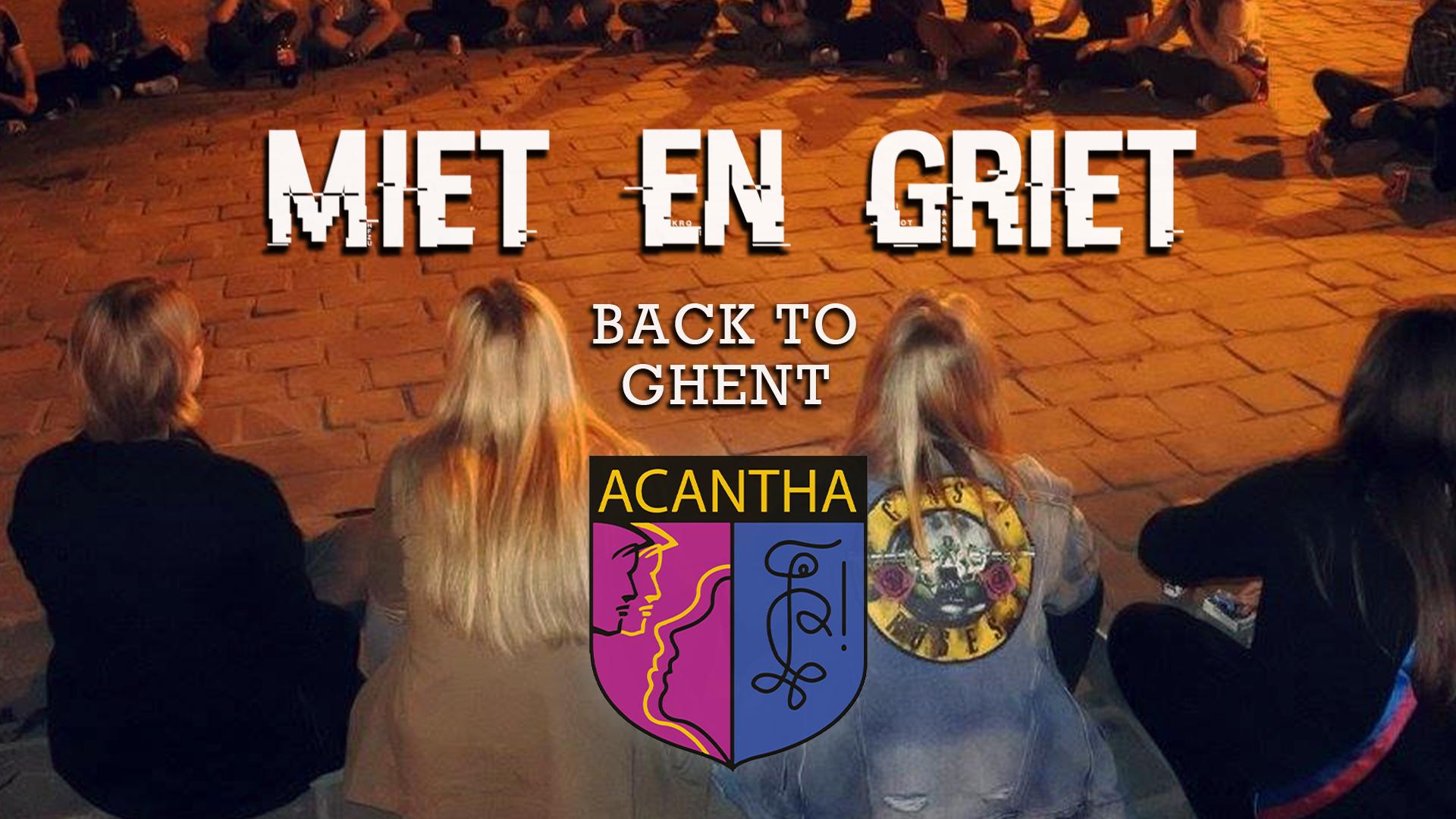 Terug naar Gent!