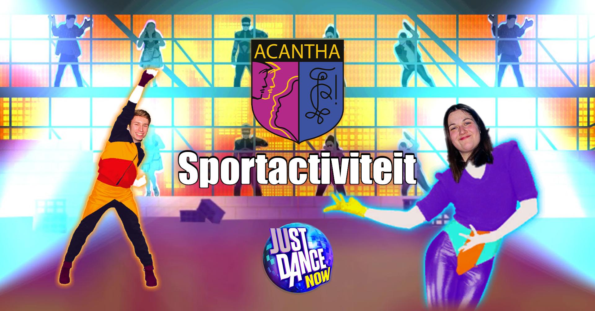 Sportactiviteit Just Dance Online Acantha