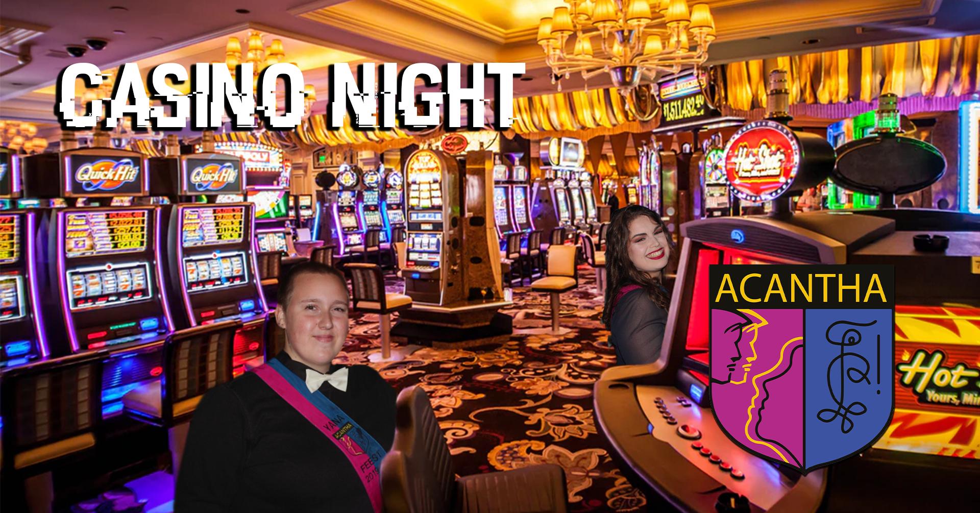Acantha Casino Night Gala Edition