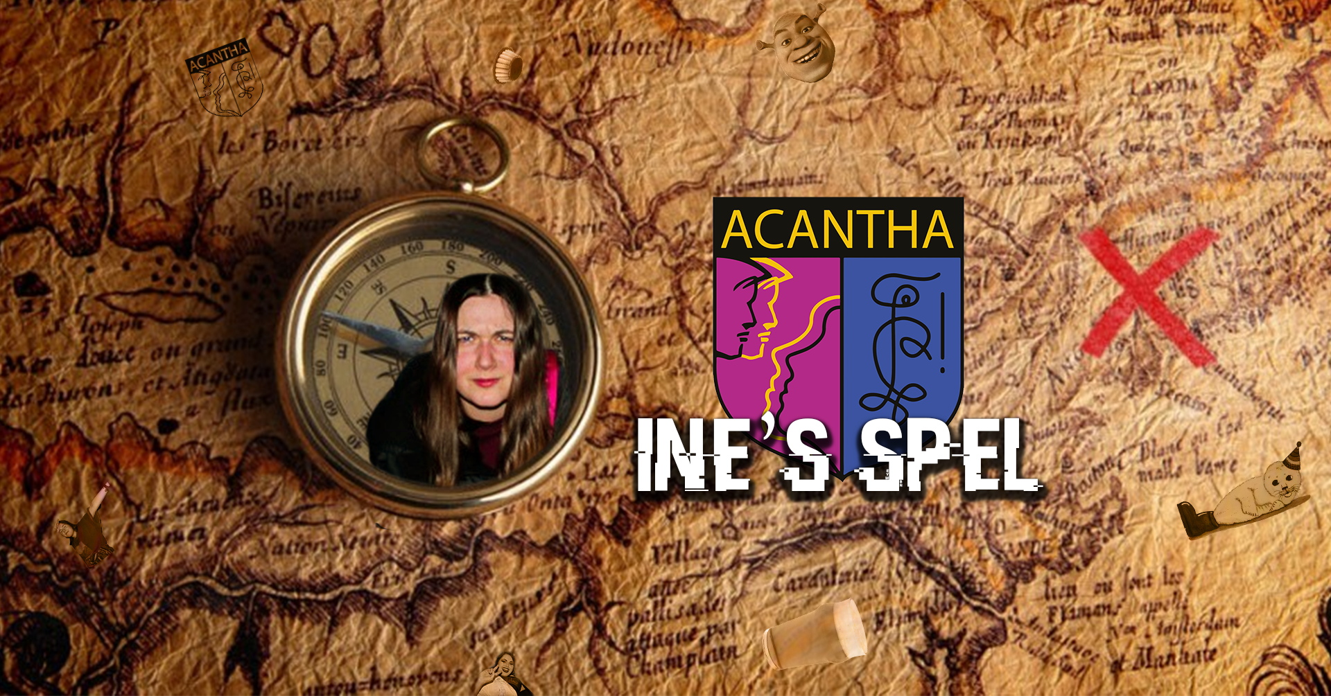 Acantha Ine's Spel Stadsspel Zoektocht