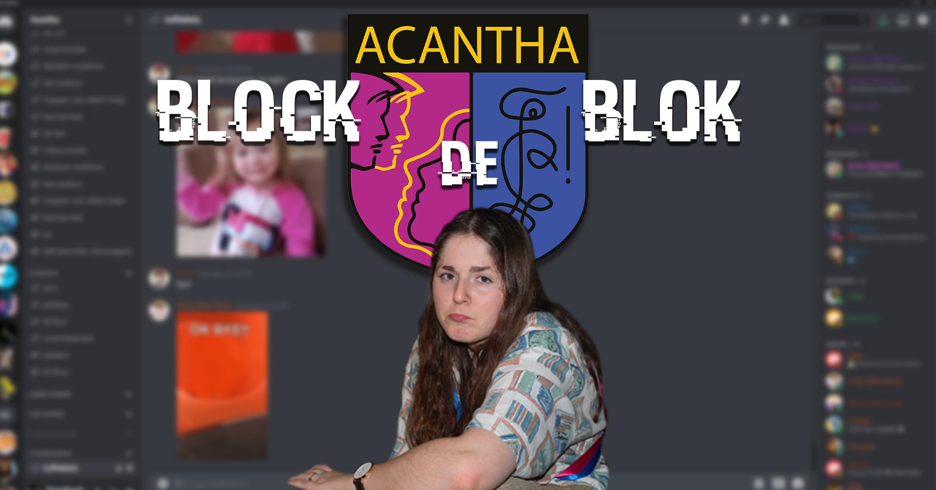 Acantha Block de blok blokpauze